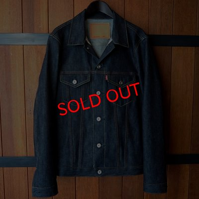 "画像1: 【SALE30%OFF】RALEIGH jean ""HETEROGENEOUS"" TRUCKER JACKET[INDIGO BLUE (NON WASH)]"