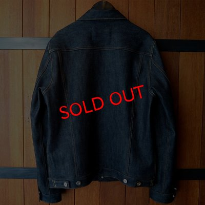 "画像2: 【SALE30%OFF】RALEIGH jean ""HETEROGENEOUS"" TRUCKER JACKET[INDIGO BLUE (NON WASH)]"