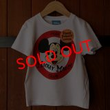 """《KIDS》DISNEY別注 The Mickey Mouse Club """"MOUSEKETEERS"""" T-SHIRTS [WH]"""