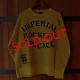 "Iron-On Letters ""IMPERIAL ROCKERS CONTACT"" COLLEGE C/N SWEAT[MD]"
