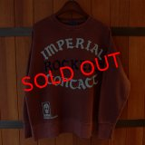 "Iron-On Letters ""IMPERIAL ROCKERS CONTACT"" COLLEGE C/N SWEAT[WR]"