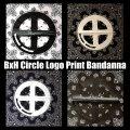 BxH Circle Logo Print Bandana