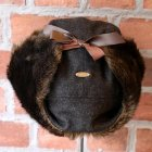 他の写真3: 【Original John】PILOT CAP[CHARCOAL GREY - BLACK GREEN FUR]