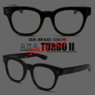 "画像2: TURBO 5 speed Ver.2 ""通称ターボ II"" EYE GLASSES (by RALEIGH Design)[BK x CL]"