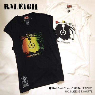 "画像1: RALEIGH ""Red Beat Conn. CAPITAL RADIO"" NO-SLEEVE T-SHIRTS"