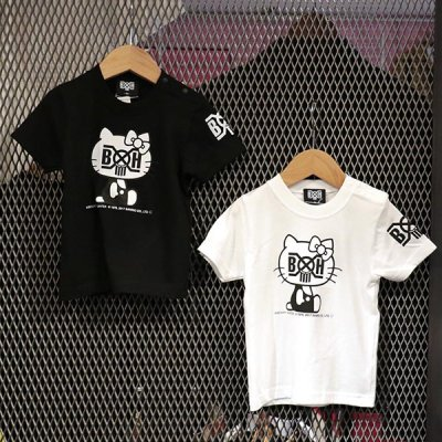画像2: BxH/Hello Kitty Kids Tee[BLK,WHT]