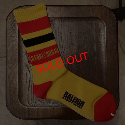 "画像2: 【再入荷】RALEIGH""EXCITEMENT OF EARLY80'S RALEIGH"" SK-8 SOX"