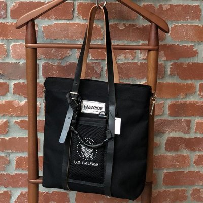 "画像2: 【RALEIGH】EZ RIDE ""RAMONA"" LEATHER STRAP TOTE BAG with ""LITTLE RAMONA"" POUCH"