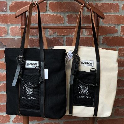 "画像1: 【RALEIGH】EZ RIDE ""RAMONA"" LEATHER STRAP TOTE BAG with ""LITTLE RAMONA"" POUCH"