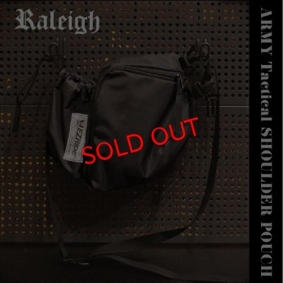 "画像1: RALEIGH ""EZ RIDE & SCRAMBLE"" ARMY Tactical SHOULDER POUCH"
