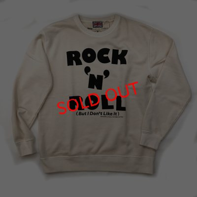 "画像1: RALEIGH BEGINNERS ""ROCK'N'ROLL (But I Don't Like It!!!)"" C/N SWEAT[ VINTAGE IVOLY]"