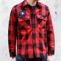 """【30%OFF】RALEIGH BEGINNERS """"(I Got a Crush on You) 1977"""" C.P.O. JACKET【Buffalo Check (RED x BLACK)】"""