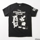 他の写真1: BxH / STEAMBOAT WILLIE Tee [BK/WH]