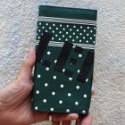 "他の写真2: 【ARTOMIC別注限定カラー】RALEIGH Design ""POLKA DOT"" BANDANA WALLET with ""HANGING DOWN"" LEATHER STRAP(GREEN/WH)"