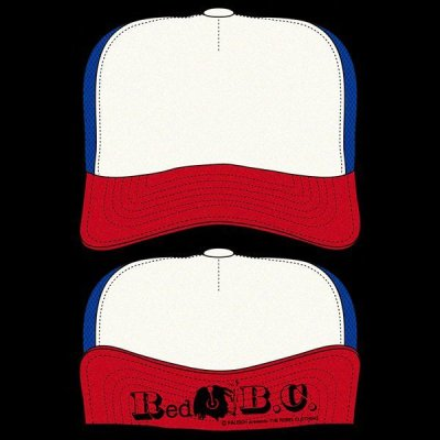 "画像1: [RALEIGH]Red B.C. CAPITAL RADIO ""CODE RED! CODE RED!"" TRUCKER HAT (Summer Ver.)"