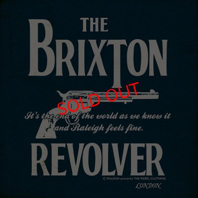 "画像2:  【RALEIGH】 ""THE BRIXTON REVOLVER"" T-SHIRTS (2019 Ver.)"