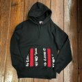 """I Need Excitement, Oh I Need It Bad """"RALEIGH SINCE 1999"""" Pullover Hoodie & """"R.L.G COLLEGE"""" Jogger Pants[BK]"""