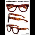 """RALEIGH starring : GN8 ROCKSTAR """"THOSE WHO DIED YOUNG"""" EYE GLASSES[AMBER/CLEAR]"""