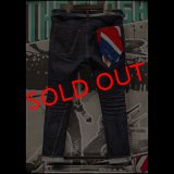 """RALEIGH jeans """"龍動黒騎"""" Reverse Weave SEXUAL BLUE JEAN (LDN1977) with """"英吉利旗"""" UNION FLAG BANDANA (Red, White & Royal Blue)"""