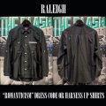 """RALEIGH """"ROMANTICISM"""" DRESS CODE OR HARNESS UP SHIRTS[BLACK ]"""