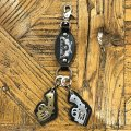 """Symbolic of RALEIGH """"44口径"""" LEATHER KEY STRAP (Lonely Planet Boys Ver.)"""